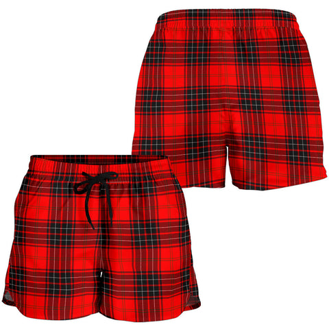 Wemyss Modern Tartan Shorts For Women K7