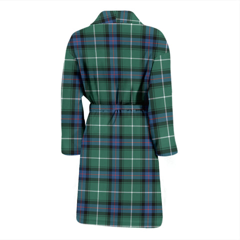 Image of MacDonald Of The Isles Hunting Ancient Tartan Mens Bathrobe - BN