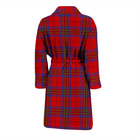 Image of Leslie Modern Tartan Mens Bathrobe - BN