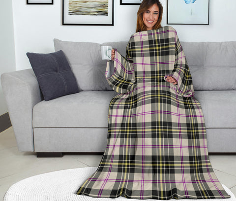 Image of MacPherson Dress Ancient Tartan Clans Sleeve Blanket K6