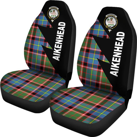 Image of Aikenhead Clans Tartan Car Seat Covers - Flash Style - BN
