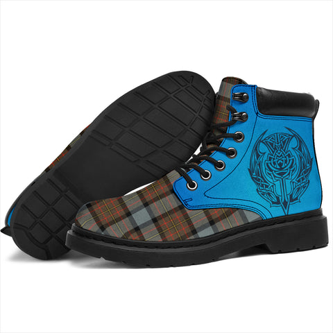 Maclaren Weathered Tartan All-Season Boots - Celtic Thistle TH8