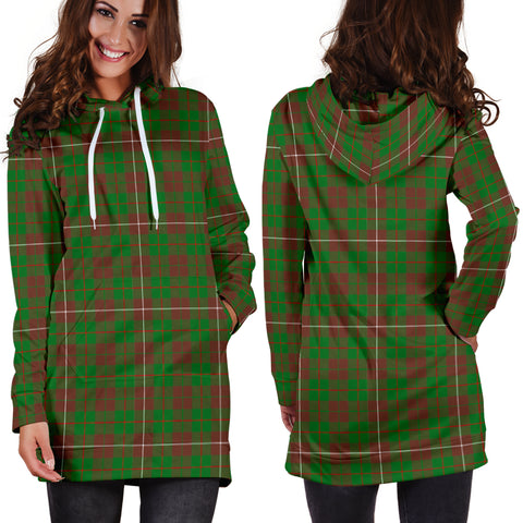MacKinnon Hunting Modern Tartan Hoodie Dress HJ4