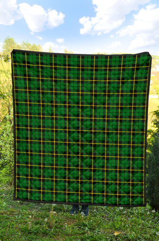 Image of Wallace Hunting - Green Tartan Premium Quilt TH8