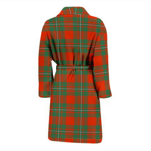 MacGregor Ancient Tartan Mens Bathrobe - BN