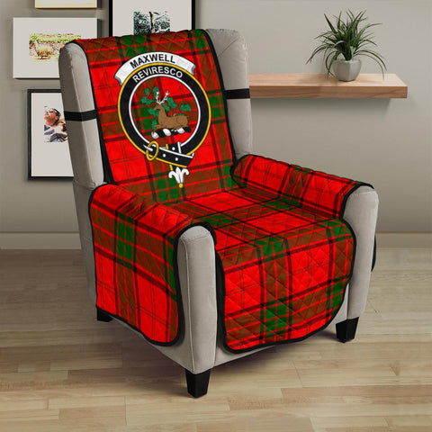 Image of Maxwell Modern Tartan Clan Badge Sofa Protector K7