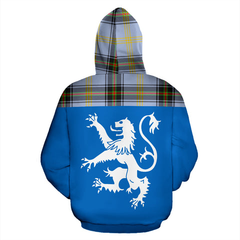 Tartan All Over Hoodie - Lion Bell of the Borders - BN
