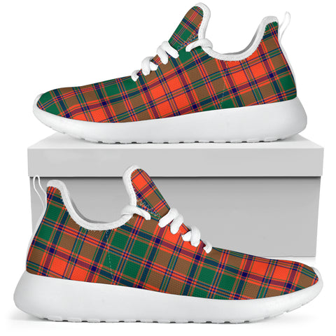 Tartan Mesh Knit Sneakers - Stewart of Appin Ancient - BN