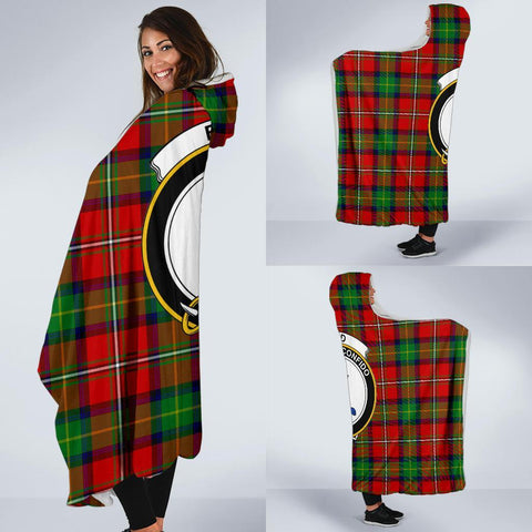 Image of Boyd Clans Tartan Hooded Blanket - BN