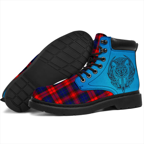 Image of Maclachlan Modern Tartan All-Season Boots - Celtic Thistle TH8