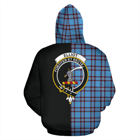 Elliot Ancient Tartan Hoodie Half Of Me TH8