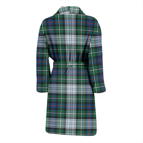 MacKenzie Dress Ancient Tartan Mens Bathrobe - BN