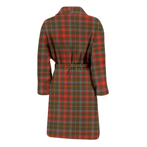 MacKintosh Hunting Weathered Tartan Mens Bathrobe - BN