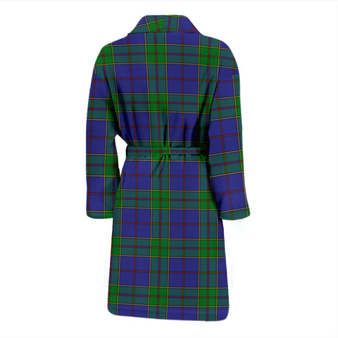 Image of Strachan Tartan Mens Bathrobe - BN