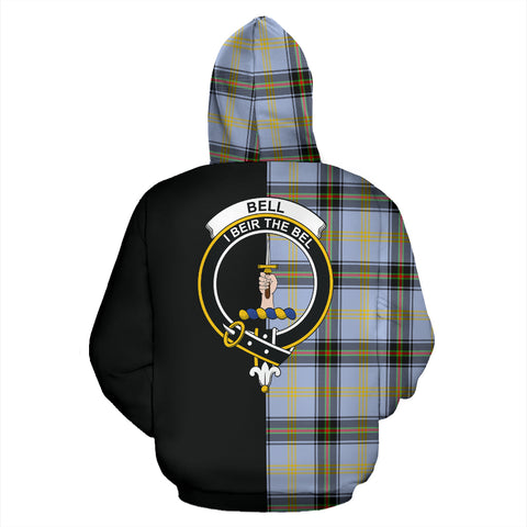 Bell of the Borders Tartan Hoodie Half Of Me TH8