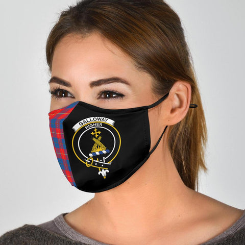 Image of Tartan Face Cover