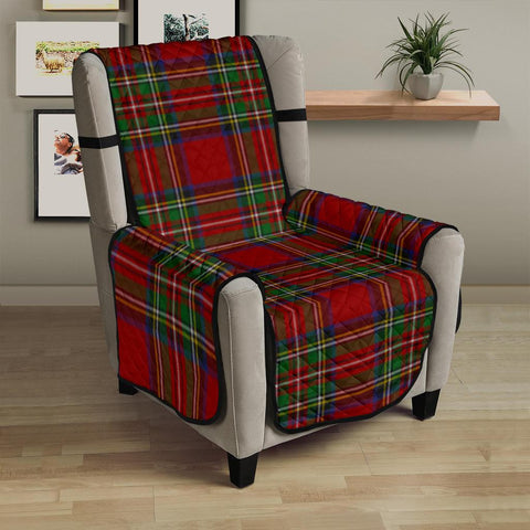 Stewart Royal Tartan Chair Sofa Protector K7