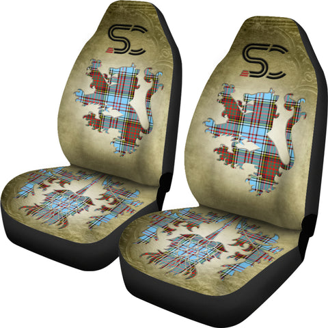 Anderson Ancient Tartan Car Seat Cover Lion and Thistle Special Style TH8