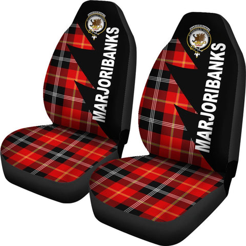 Marjoribanks Clans Tartan Car Seat Covers - Flash Style - BN
