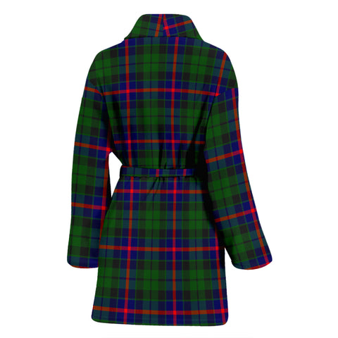 Image of Morrison Modern Tartan Womens Bathrobe - BN