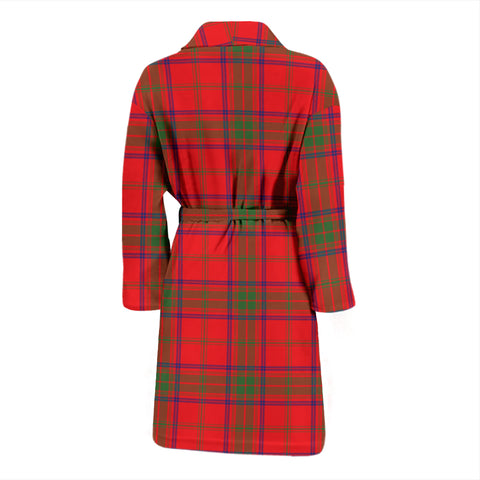 Ross Modern Tartan Mens Bathrobe - BN