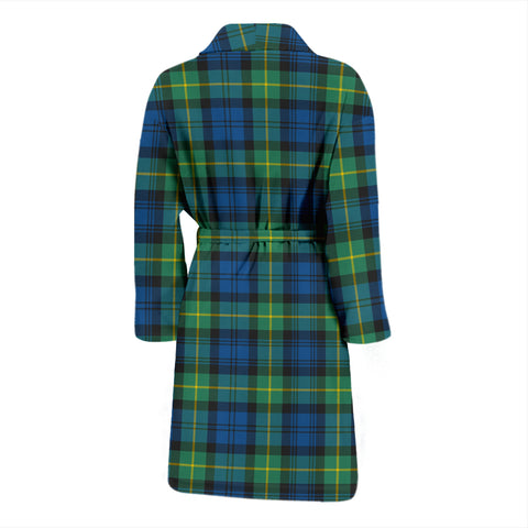 Gordon Ancient Tartan Mens Bathrobe - BN