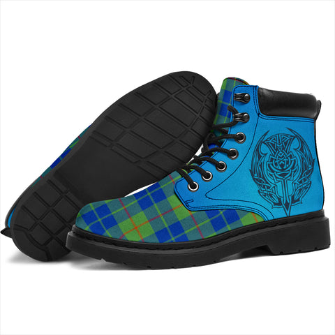 Barclay Hunting Ancient Tartan All-Season Boots - Celtic Thistle TH8