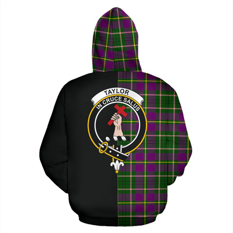 Image of Taylor Tartan Hoodie Half Of Me TH8