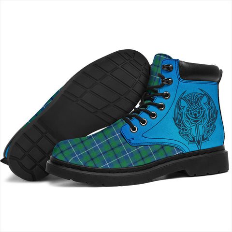 Douglas Ancient Tartan All-Season Boots - Celtic Thistle TH8