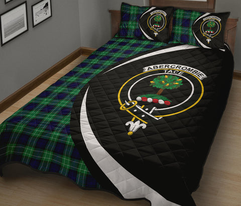 Abercrombie Tartan Quilt Bed Set Circle