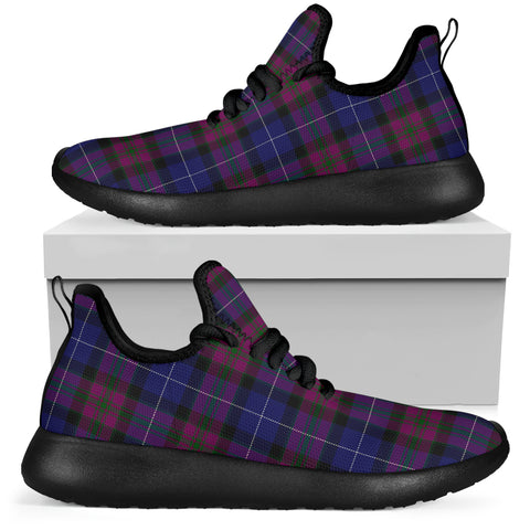 Tartan Mesh Knit Sneakers - Pride of Scotland