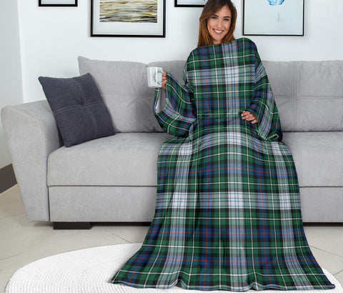 MacKenzie Dress Ancient Tartan Clans Sleeve Blanket K6