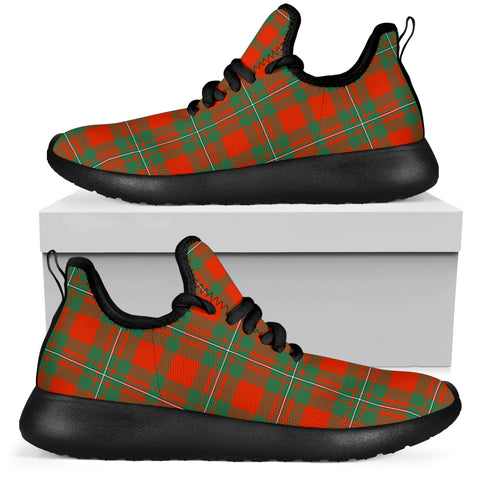 Tartan Mesh Knit Sneakers - MacGregor Ancient