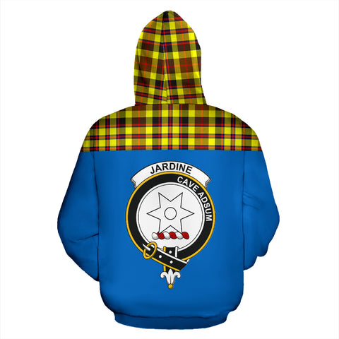 Image of Tartan All Over Hoodie - Jardine Clans