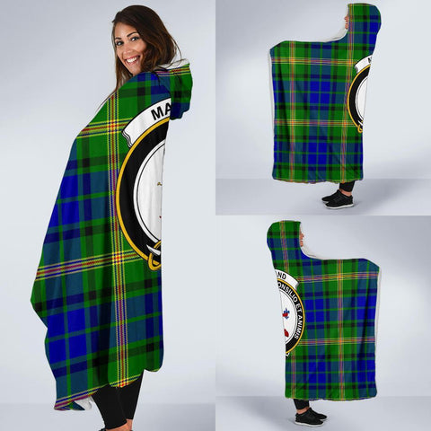 Image of Maitland Clans Tartan Hooded Blanket - BN