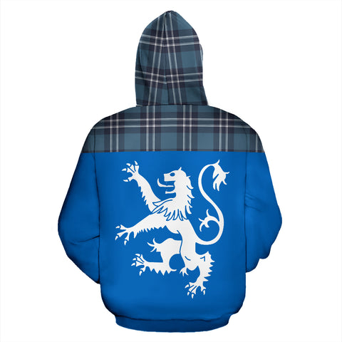 Image of Tartan All Over Hoodie - Lion Earl of St Andrews - BN
