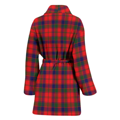 Image of Robertson Modern Tartan Womens Bathrobe