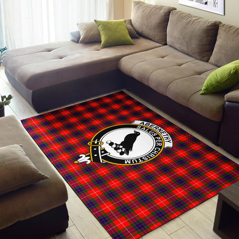 Abernethy Clan Tartan Area Rug, Scottish Clans Tartan Area Rug, Scottish Rug, Scotland Area Rug