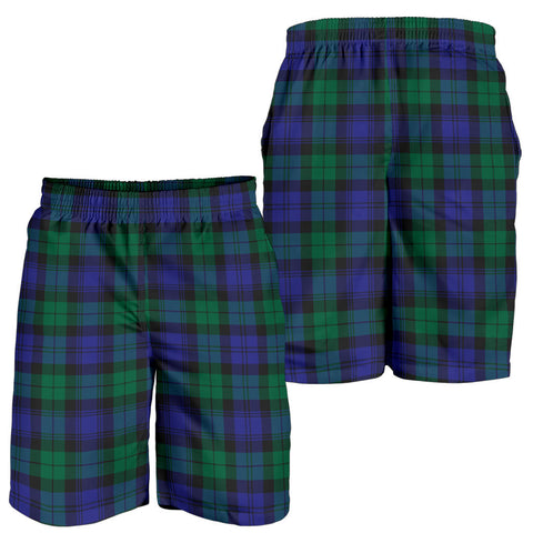 BlackWatch Modern Tartan Shorts For Men K7