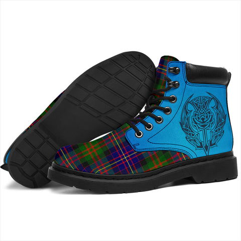 Image of Cameron Of Erracht Modern Tartan All-Season Boots - Celtic Thistle TH8