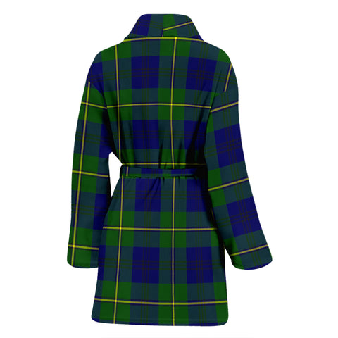 Johnston Modern  Tartan Womens Bathrobe