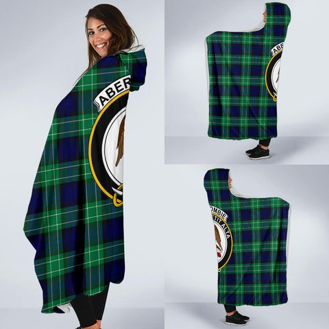 Image of Abercrombie Clans Tartan Hooded Blanket - BN