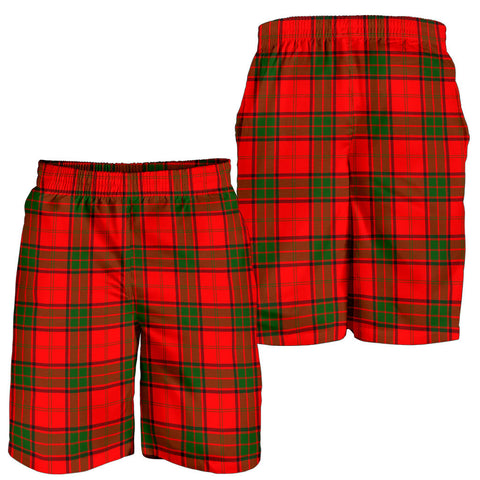Maxwell Modern Tartan Shorts For Men K7