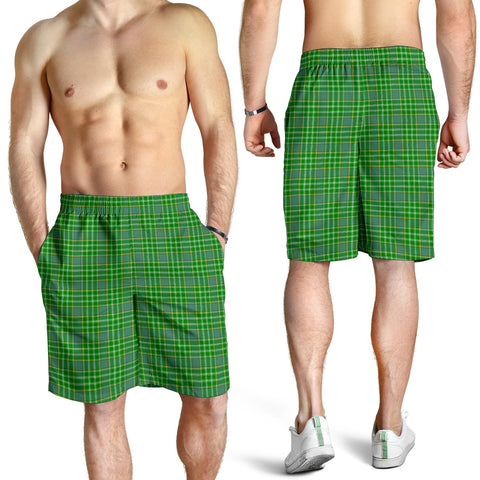 Image of Currie Tartan Shorts For Men K7