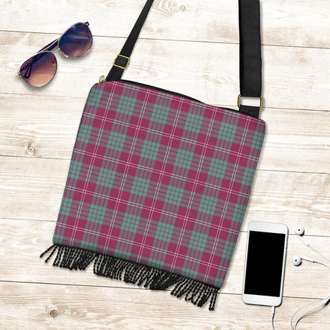 Image of Crawford Ancient Tartan Boho Handbag K7