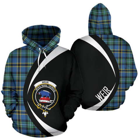 Image of Weir Ancient Tartan Circle Hoodie HJ4