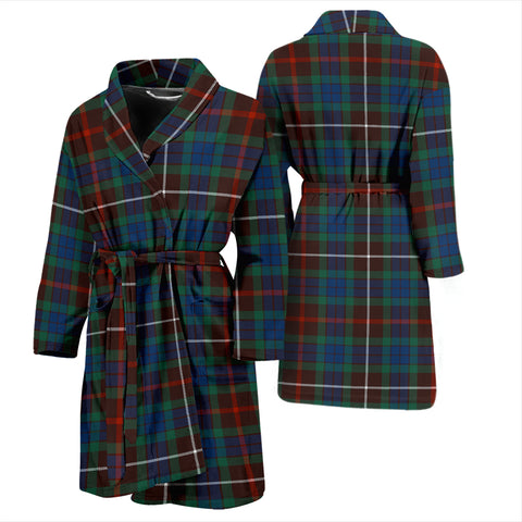 Fraser Hunting Ancient Tartan Mens Bathrobe - BN