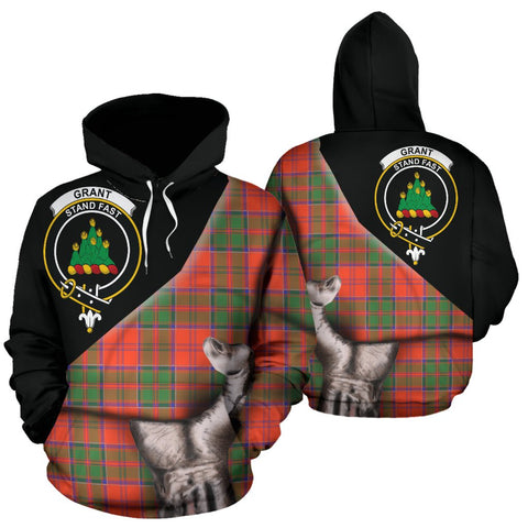Image of Grant Ancient Tartan Hoodie Patronage