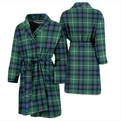 MacDonald Of The Isles Hunting Ancient Tartan Mens Bathrobe - BN