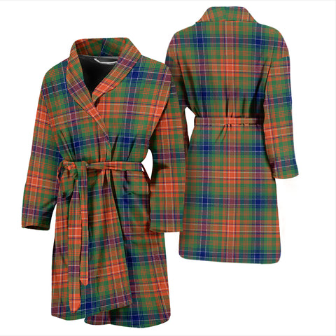 Image of Wilson Ancient Tartan Mens Bathrobe - BN
